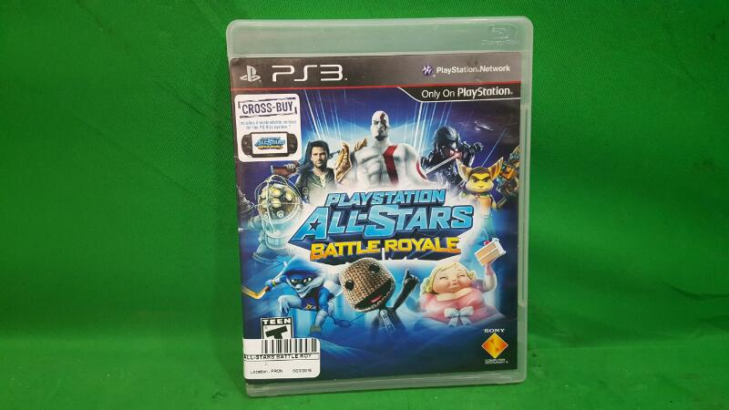 PlayStation All-Stars Battle Royale (Sony PlayStation 3, 2012)