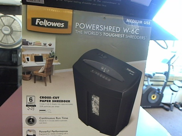 FELLOWES Shredder POWERSHRED W-6C