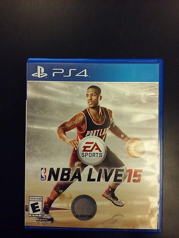 SONY PLAYSTATION4 Sony PlayStation 4 Game NBA LIVE15