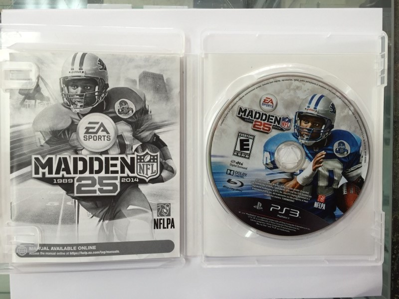 SONY PlayStation 3 Game MADDEN 25 - PS3
