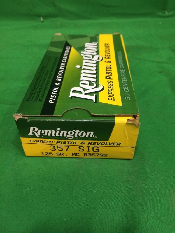 REMINGTON FIREARMS & AMMUNITION Ammunition UMC .357 SIG