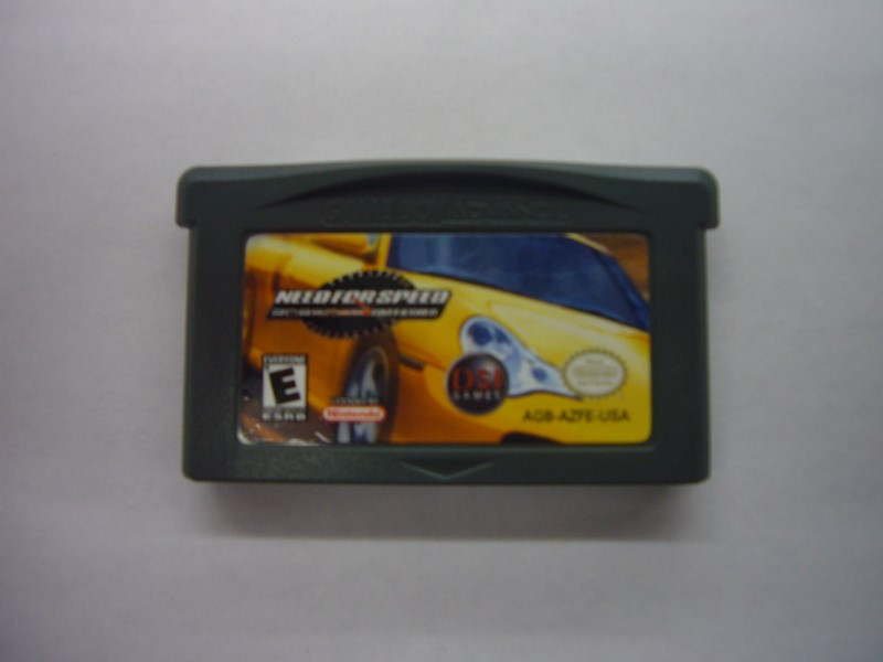 NINTENDO GBA Game NEED FOR SPEED: PORSCHE UNLEASHED