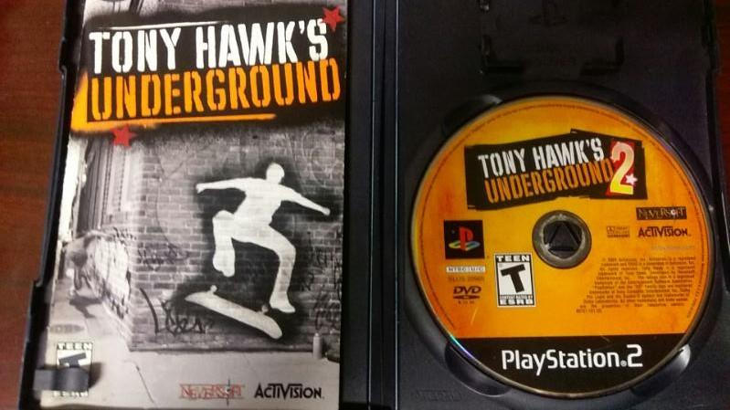 SONY PLAYSTATION 2 TONY HAWK'S UNDERGROUND 2 VIDEO GAME
