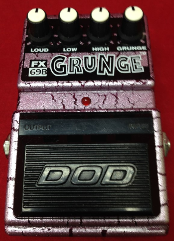 DOD FX69B GRUNGE DISTORTION OVERDRIVE EFFECTS PEDAL