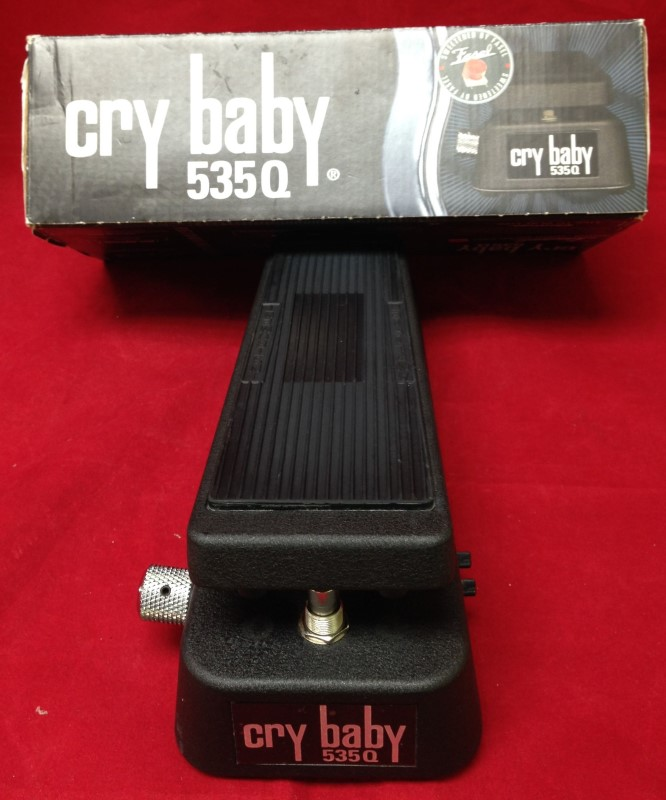 CRYBABY Effect Equipment 535Q