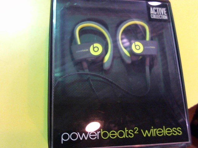 BEATS AUDIO Headphones POWERBEATS 2 | WIRELESS IN EAR HEADPHONE