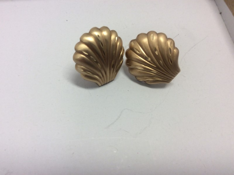 Gold Earrings 14K Yellow Gold 1.35g