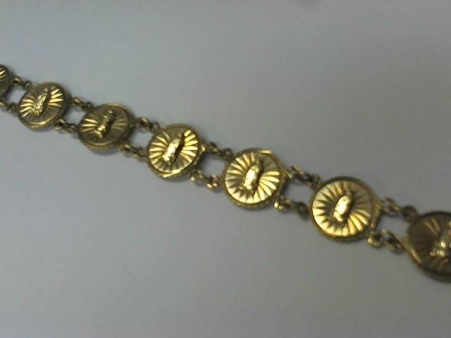 Gold Bracelet 10K Yellow Gold 10.4g