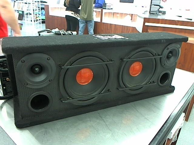 "DUAL ELECTRONICS Car Speakers/Speaker System 2 6"" DUAL SUB BOX"