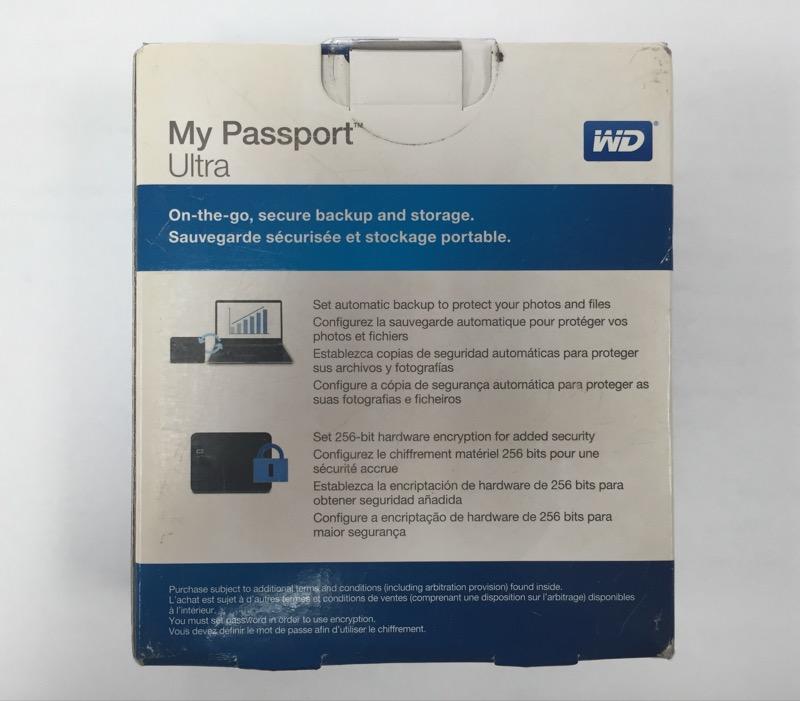 Western Digital My Passport Ultra Metal Edition 1TB USB 3.0 Portable Hard Drive