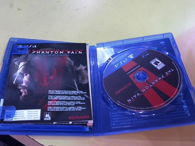 SONY Sony PlayStation 4 Game METAL GEAR SOLID V THE PHANTOM PAIN