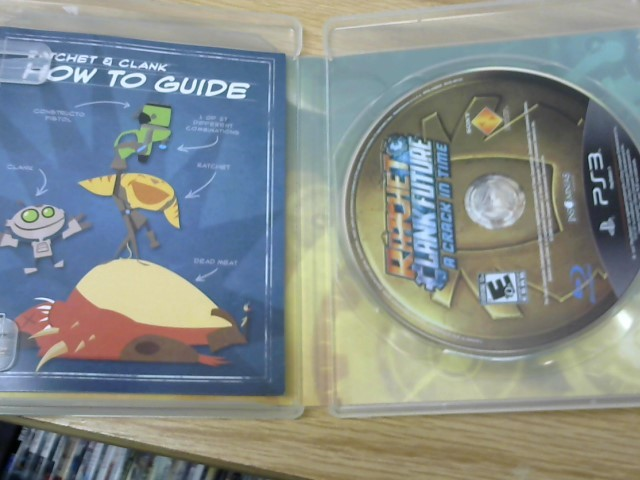SONY Sony PlayStation 3 Game RATCHET CLANK FUTURE A CRACK IN TIME