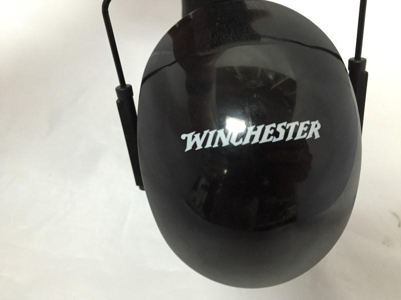 WINCHESTER CO. BLACK  EARMUFFS, GOOD CONDITION