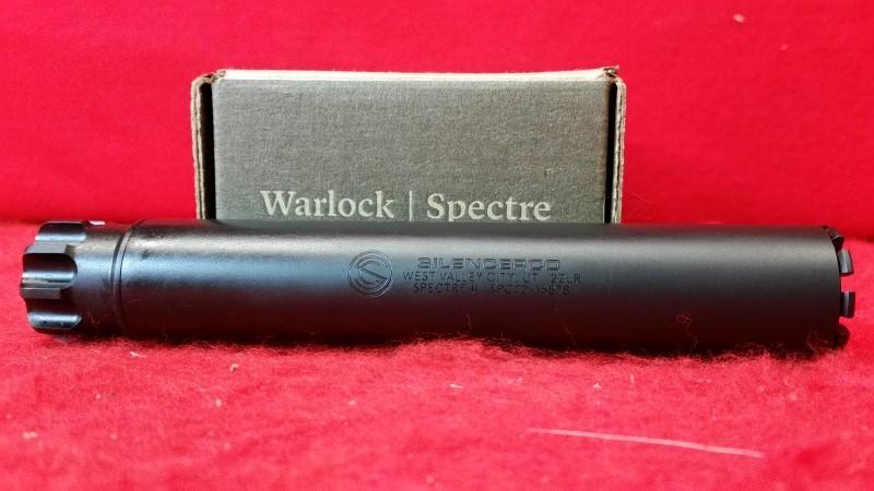 SilencerCo Spectre II Rimfire Suppressor 22lr / 22mag / 17hmr / 5.7x28