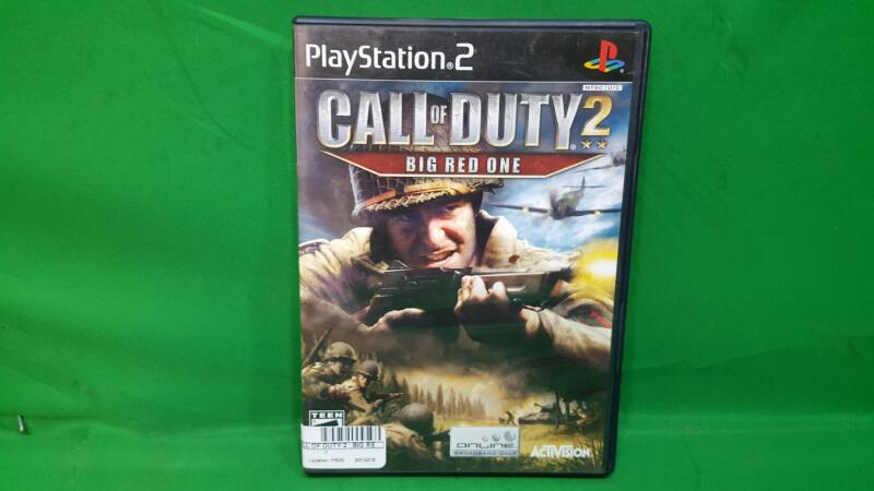 SONY Sony PlayStation 2 Game CALL OF DUTY 2 : BIG RED ONE