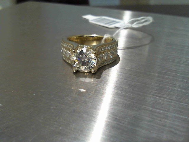 Lady's Gold Ring 14K Yellow Gold 8.1g