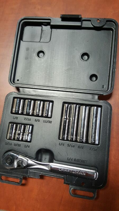 CRAFTSMAN Sockets/Ratchet 934745