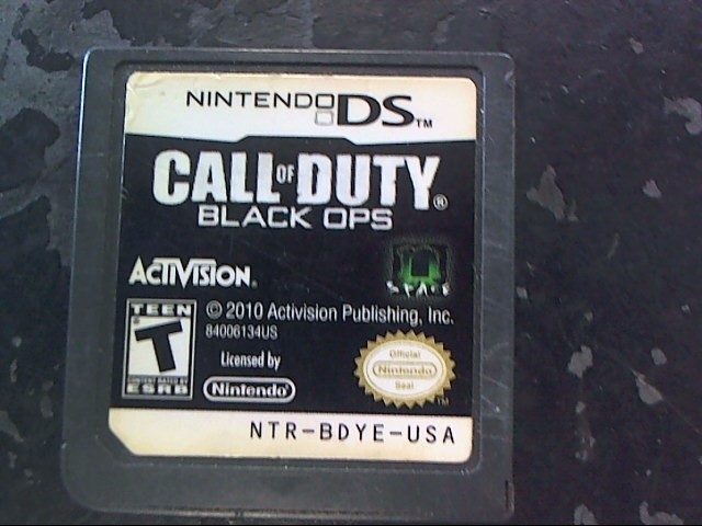 NINTENDO Nintendo DS Game CALL OF DUTY BLACK OPS DS