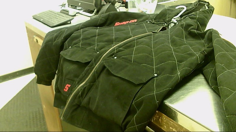 SNAP-ON XL QUILTED JACKET W/HOOD