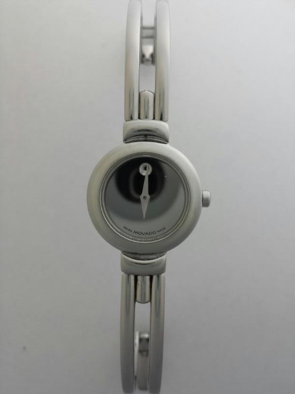Movado Harmony 84A1809 Women's Sapphire Crystal Bangle Mirror Watch