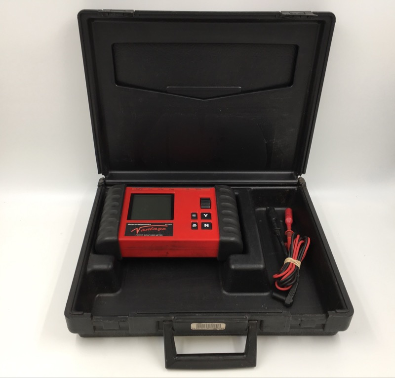 SNAP ON DIAGNOSTICS MT2400 VANTAGE POWER GRAPHING METER