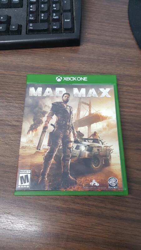 Mad Max (Microsoft Xbox One, 2015)
