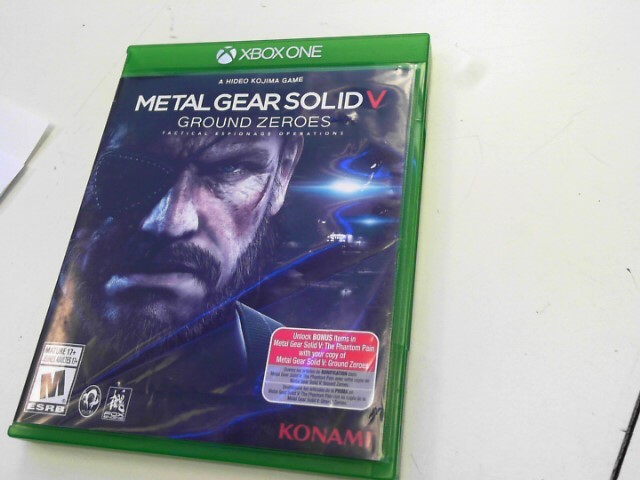 MICROSOFT Microsoft XBOX One Game METAL GEAR SOLID V GROUND ZEROES XBOX ONE