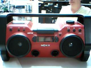 SONY Boom Box ZS-H10CP