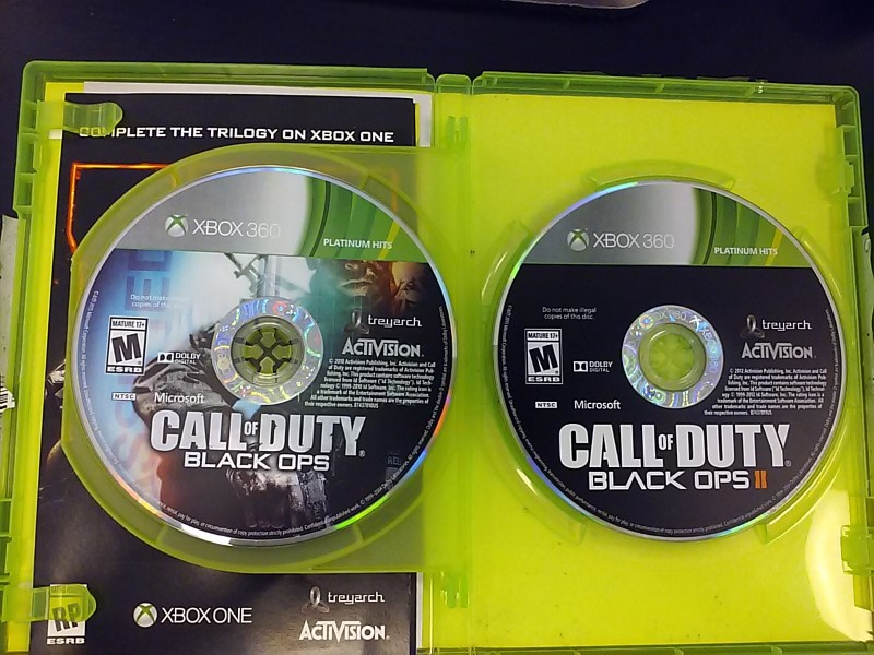 MICROSOFT Microsoft XBOX 360 Game XBOX 360 CALL OF DUTY BLACK OPS