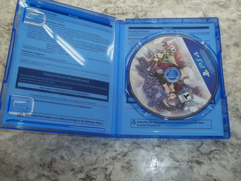 SONY NIGHTS OF AZURE (PS4)