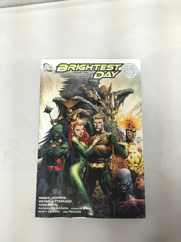 DC COMIC BRIGHTEST DAY VOL TWO HARD BACK