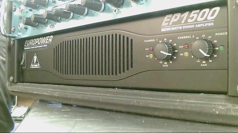 BEHRINGER BASS AMP EP1500