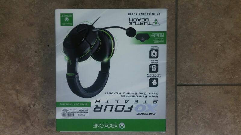 MICROSOFT Headphones TURTLE BEACH EARFORCE XO FOUR STEALTH HEADPHONES