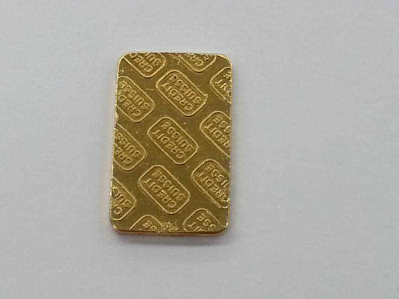 CREDIT SUISSE Gold Bullion 10 GRAM BAR