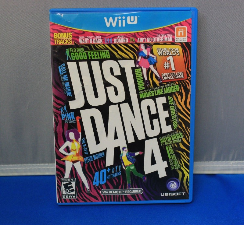 NINTENDO Nintendo Wii U Game JUST DANCE 4 WII U