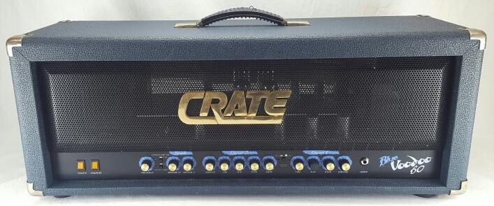 CRATE Electric Guitar Amp Head BV-60H Blue Voodoo