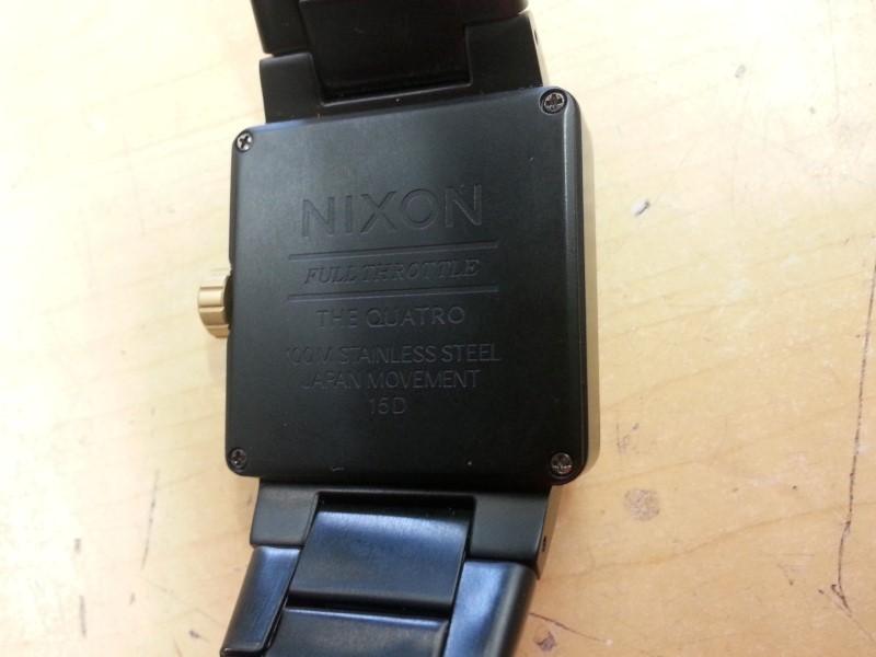 NIXON Gent's Wristwatch FULL THROTTLE