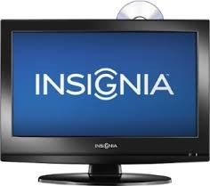 INSIGNIA Flat Panel Television DVD Combo with 10 DVD Movie Bundle NS-19LD120A13