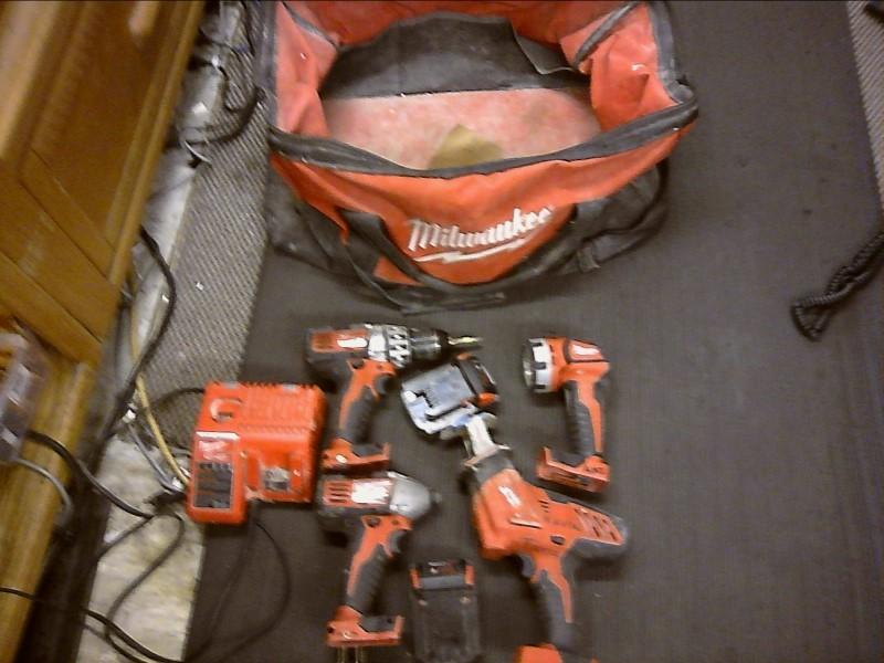 MILWAUKEE Cordless Drill 2601-20 2650-20