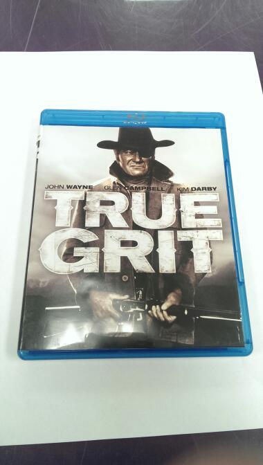 TRUE GRIT, STARRING JOHN WAYNE WESTERN BLU-RAY MOVIE,