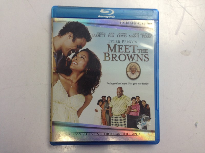 Tyler Perry's Meet the Browns (Blu-ray Disc, 2008)