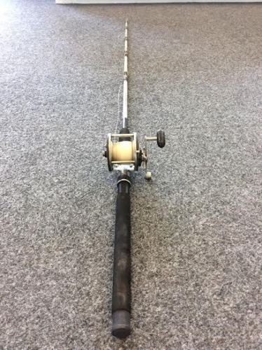 Penn Long Beach 3366C Fishing Reel/Rod Medium Heavy Action 20-40 lb Line 6.5 ft