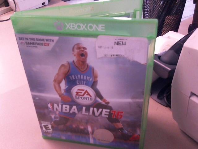 NBA LIVE 16 - XBOX ONE