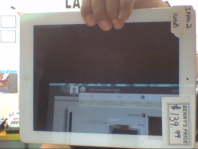 APPLE Tablet IPAD 2 MC989LL/A