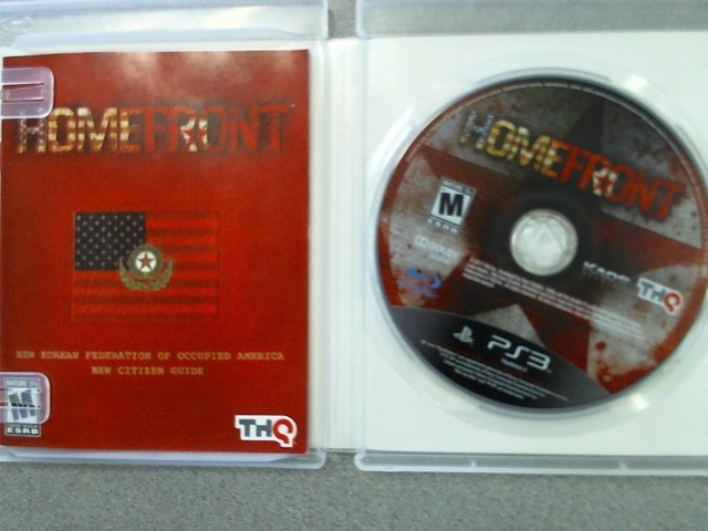 SONY Sony PlayStation 3 Game PS3 HOMEFRONT