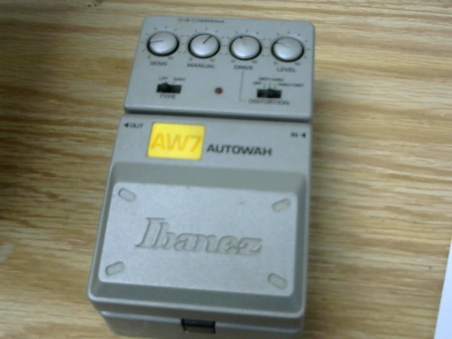 IBANEZ AW7 AUTOWOH PEDAL