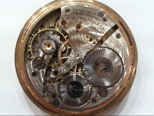WALTHAM 15 JEWEL, 1906 POCKET WATCH SER#15377572