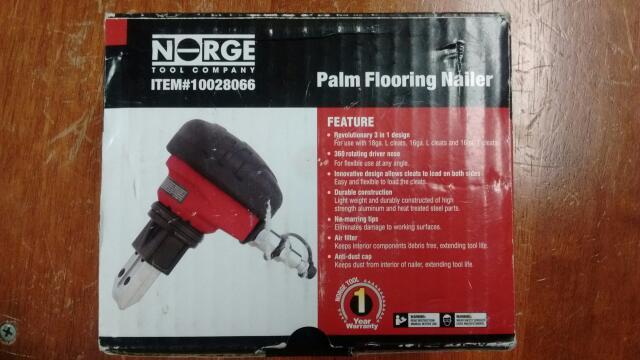 NORGE TOOLS PALM FLOORING NAILER 10028066