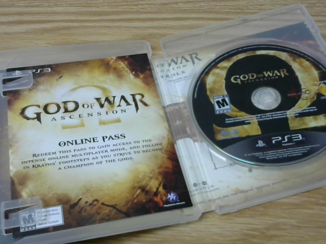SONY Sony PlayStation 3 Game GODS OF WAR ASCENSION - PS3
