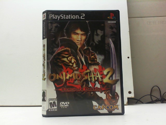 SONY Sony PlayStation 2 Game ONIMUSHA 2 SAMURAIS DESTINY
